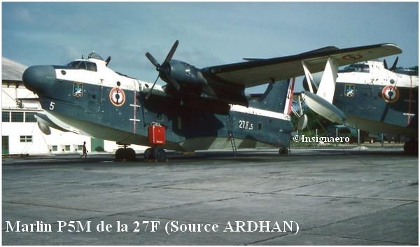P5M Marlin de la flottille 27F a Dakar