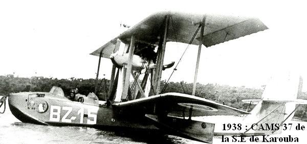 1938. CAMS 37 de la S.E de Karouba