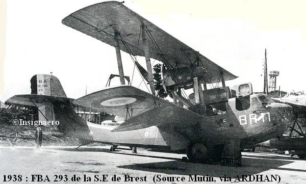 1938. FBA 293 de la SE de Brest A1