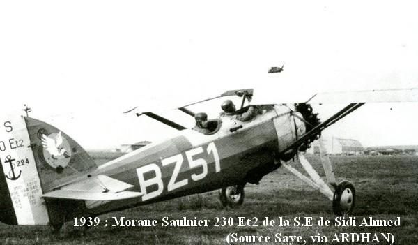 1939. M.S 230 Et2 de la SE Sidi Ahmed