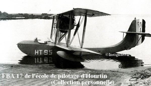 FBA 17 de l ecole de pilotage d Hourtin