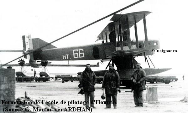 Farman 166 de l ecole de pilotage d Hourtin