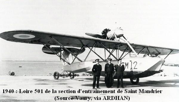 Fevrier 1940 Loire 501 de la SE St Mandrier