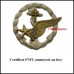 Certif volant FNFL 158