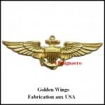 Golden wings metal USA