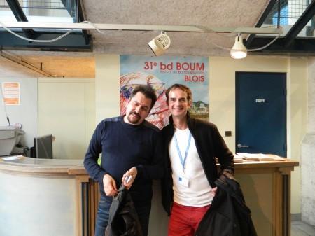 BD Boum  nov 2014 avec Bruno Genini