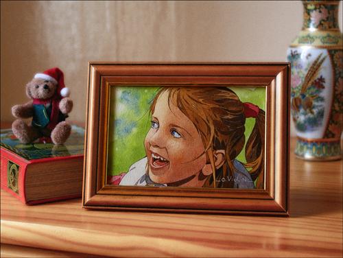 Portraits sur commande  3