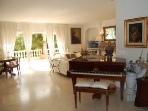 1 piano tv et terrasse