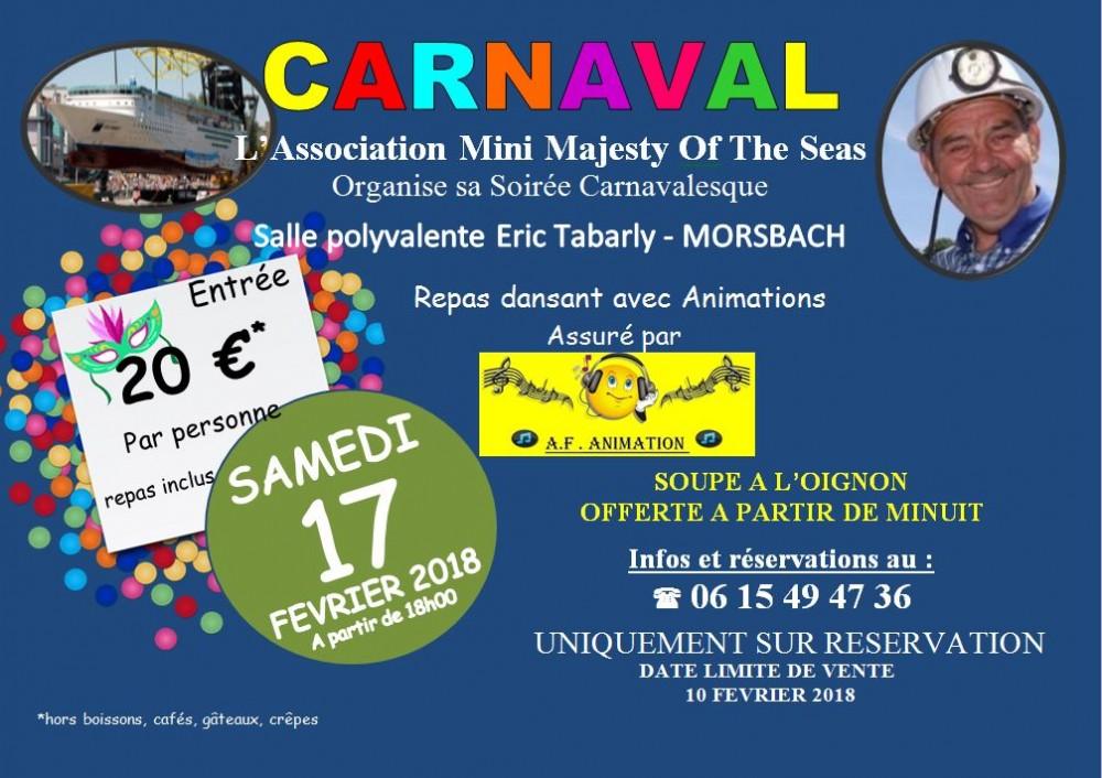 affiche carnaval 2018