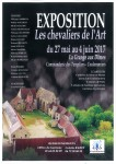 Expo affiche chevaliers art
