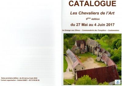 Les Chevaliers de l art catalogue