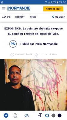 article paris normandie exposition 2011