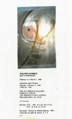 joy berman gallery carton vernissage 1987