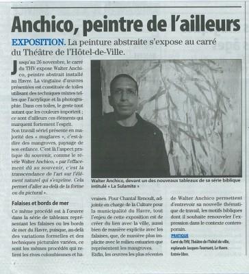 paris normandie article expo 2011