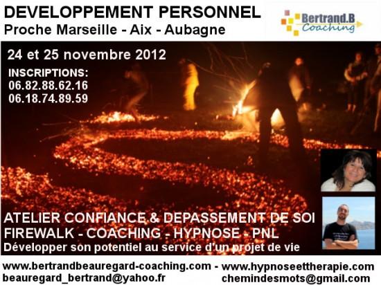 ATELIER COACHING FIREWALK CONFIANCE EN SOI 24 25 NOV
