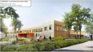 ACS   Projet architectural construction groupe scolaire ANNEMASSE