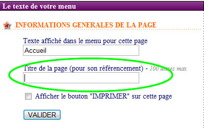 titre page referencement