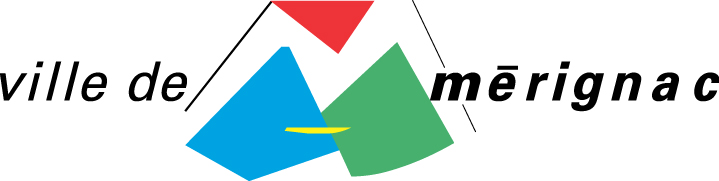 logo merignac ville coul  3