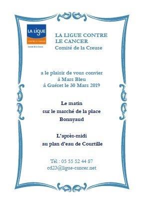 invitation mars bleu mailing