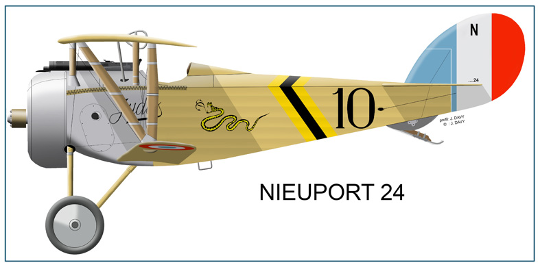 SPA 88 NIEUPORT 24