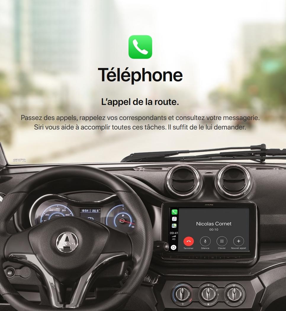 tableau avec telephone