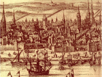 plan de bordeaux en 1572 georg braun franz hogenberg civitates orbis terrarum 1572 herzogin anna amalia bibliothek weimar