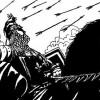 edouard de woodstock surnomme le prince noir en raison de la couleur de son armure ou de sa supposee noirceur dame