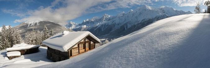 Les Houches 37 Granges des Chavants hiver 2021