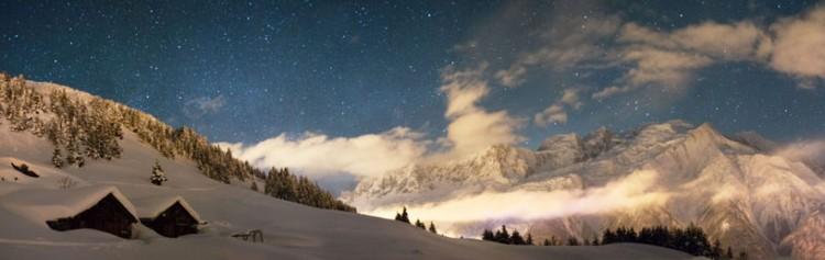 Les Houches 45 Alpage de Chailloux 5 hiver 2021