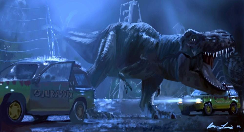 jurassic park t  rex by lewisman117 d7o0t83