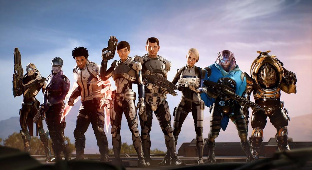 mass effect andromeda team
