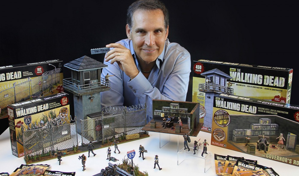 the walking dead todd mcfarlane building set 1200