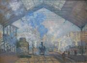 1024px La Gare Saint Lazare   Claude Monet