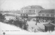 Ancienne gare de Limoges Editeur Cognac