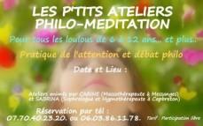 Flyer pre rempli date atelier philo