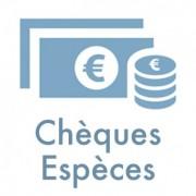 cheques especes