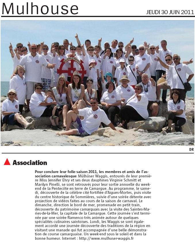 Article Alsace Camargue 2011