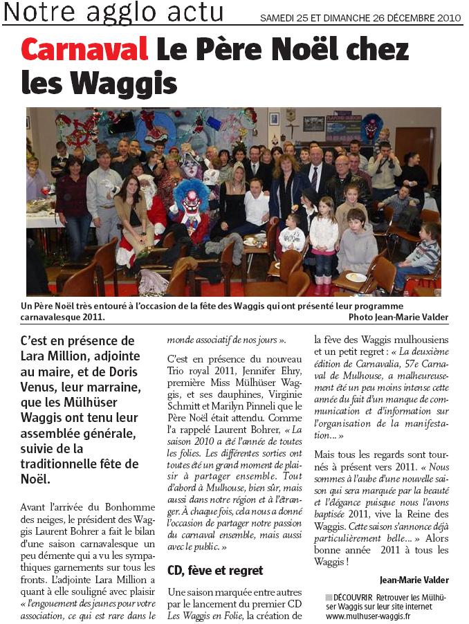 Article Alsace Noel 2010