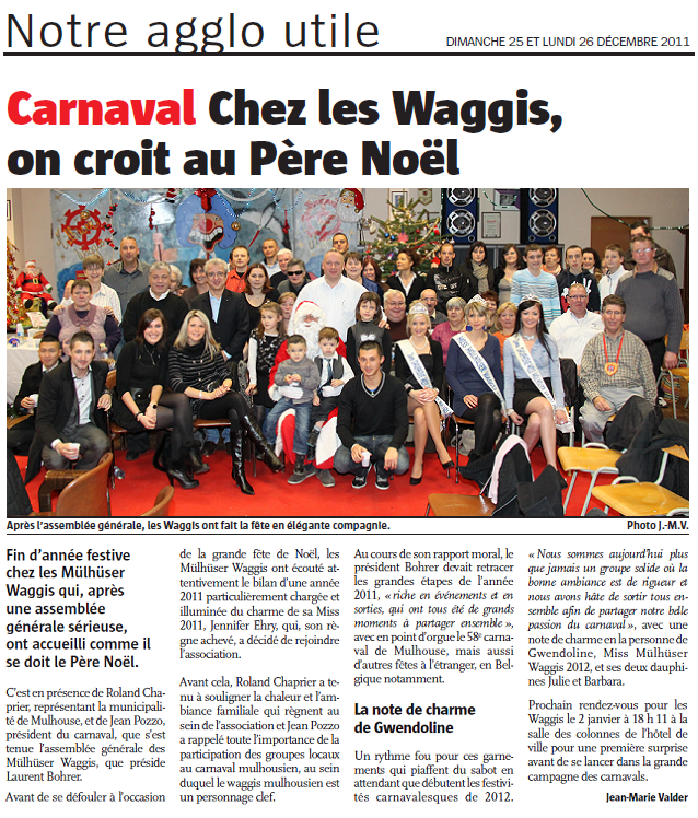 Article Alsace Noel 2011 bis