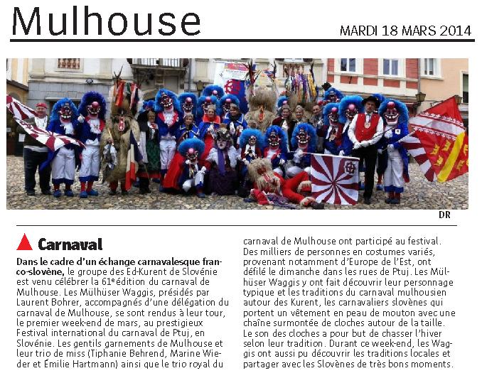 Article Alsace PTUJ 2014
