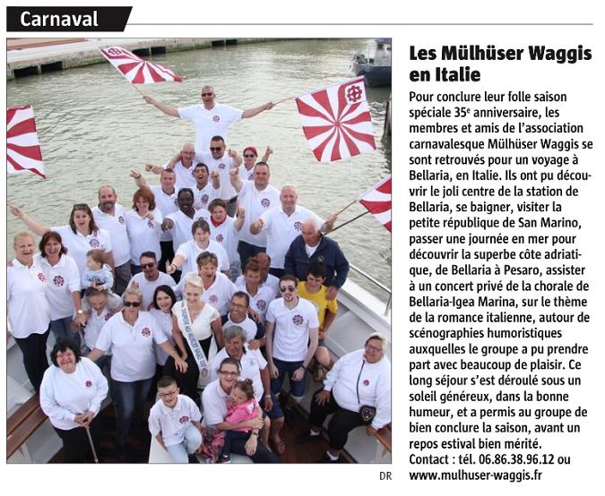 Article Alsace Voyage 2018
