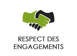 respect des engagements claouey