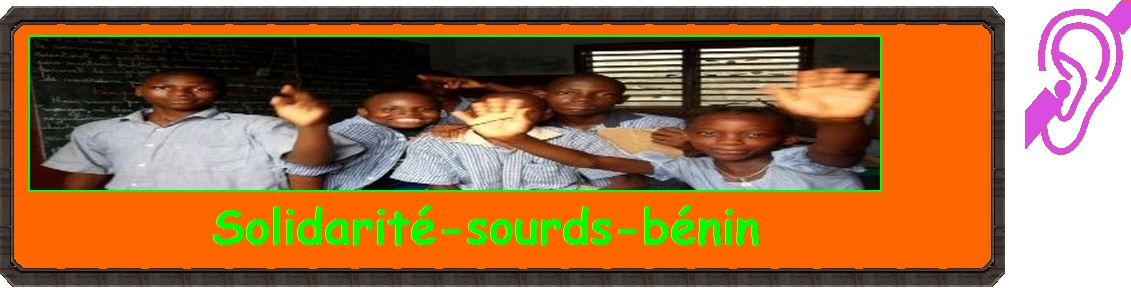 solidarite sourds benin