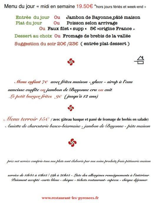 menu aout 19