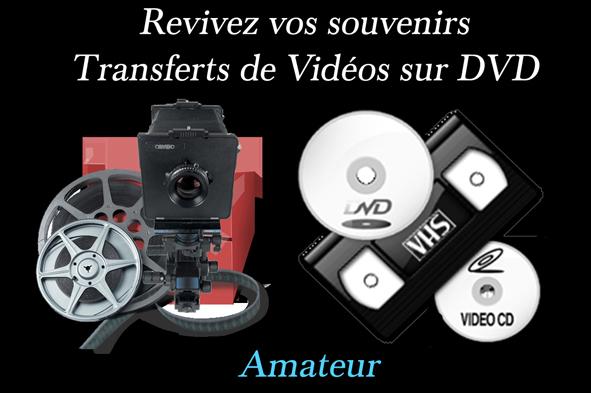 IMAGE TRANSFERT VIDEO NOIR  TEXTEamateur