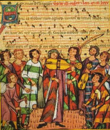 Instrumentistes   Codex Manesse