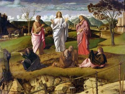trasfigurazione Giovanni Bellini