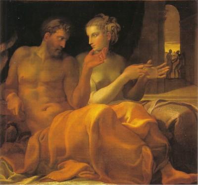 F PRIMATICCIO   Ulisse e Penelope
