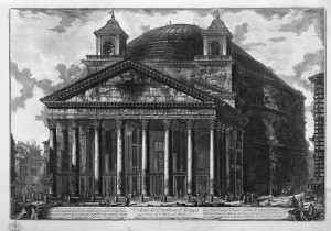 pantheon piranese 1