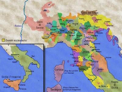 italia al trecento